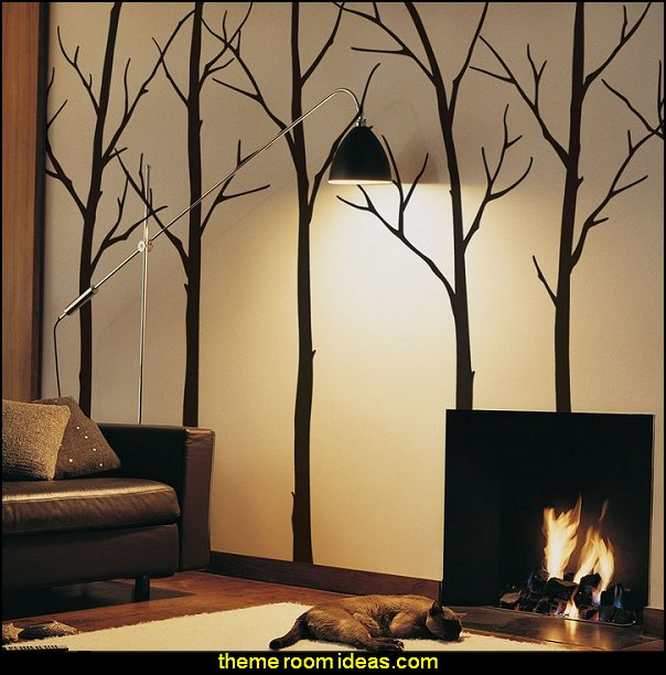 Winter Trees Wall Decals