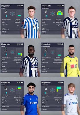 PES 2021 Premier League Facepack 2