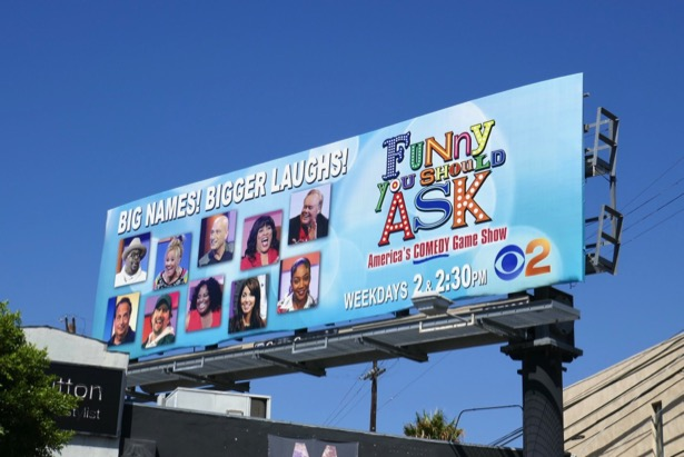 Funny You Should Ask game show billboard