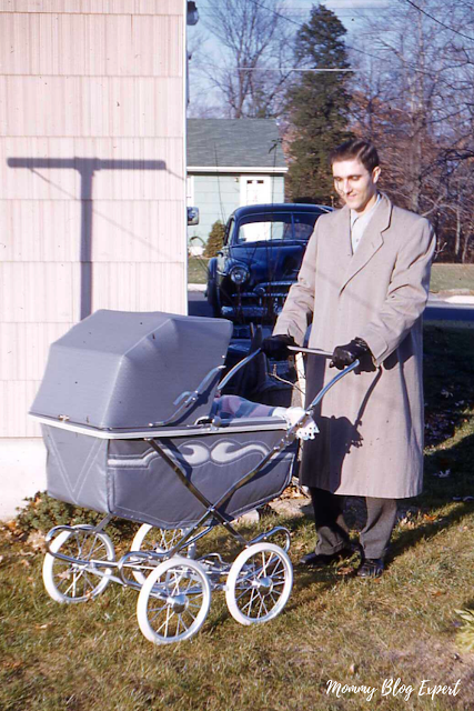 Antique 1950 Baby Carriage