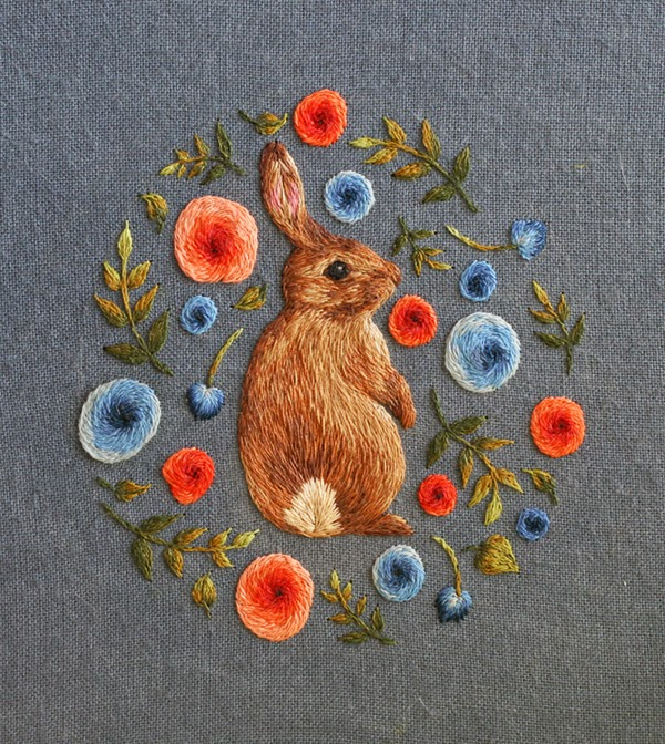 Amazing Embroidery by Chloe Giordano