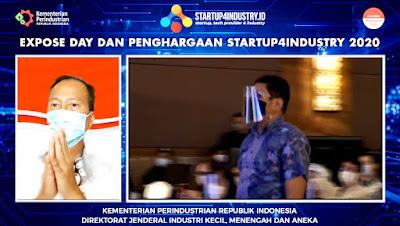 Aturtoko Juara E-commerce Enabler Kompetisi Startup4Industry 2020 Kementrian Perindustrian