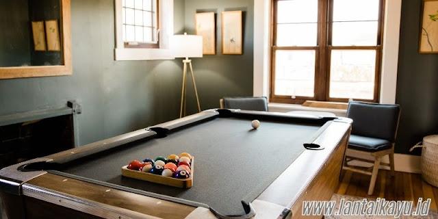 ide dekorasi ruang billiard - harus ada sirkulasi udara