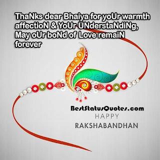 Best Rakhi status