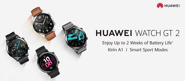Huawei Watch GT 2 smartwatch launching on December 5 in India