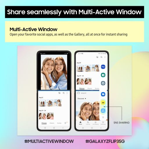 Capturing & Sharing Best Moments with Galaxy Z Flip3 5G, Galaxy Z Flip3 5G, Samsung Malaysia, Samsung Galaxy Z Flip3, Tech, Lifestyle