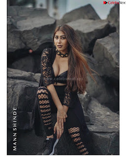 Ruma Sharma in Black deep Neck Top .xyz Exclusive Pics