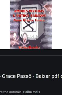 AMORES VIRTUAIS E OUTROS BABADOS - Anne Grace