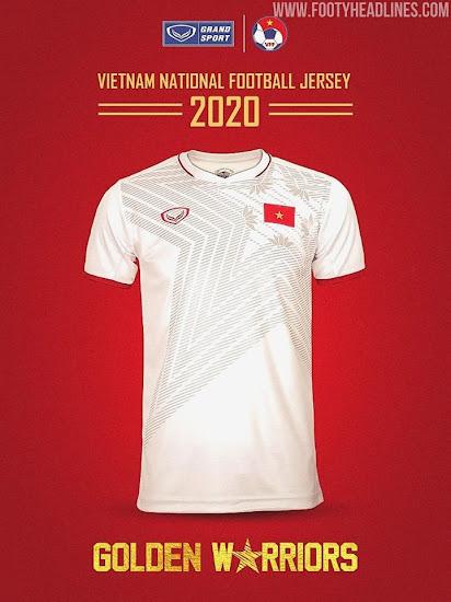 Vietnam 2020 Kit%2B%25283%2529   Áo Bóng Đá Sum Store