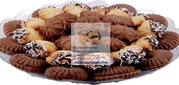 البيتيفور الفرنسي بالشوكولاطة