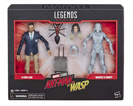 Marvel 80th Anniversary Marvel Legends Luis and Ghost Antman and Warps