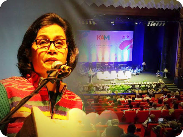 Sri Mulyani Harapkan Konferensi Musik Indonesia (KAMI) Ciptakan Ekosistem yang Baik
