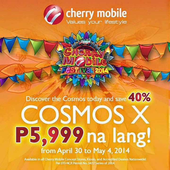 Cherry Mobile Cosmos X Sale