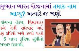 Ayushman Bharat Yojna List 2021   How To Check Your Name In Ayushman Bharat Yojana List 2021?