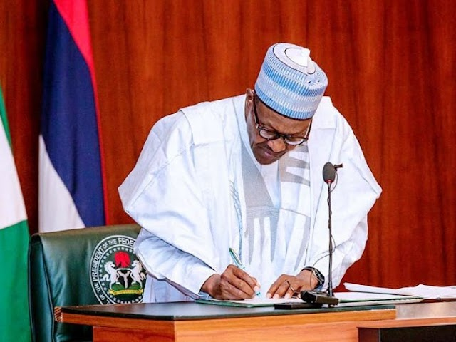 Buhari signs revised N10.8trn 2020 budget into law today