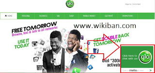how chat with glo customer care only for free