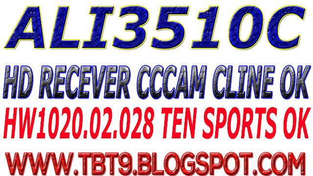 ALI3510C HD RECEIVER HW102.02.028 CCCAM CLINE & WITH POWERVU TEN SPORT OK NEW SOFTWARE