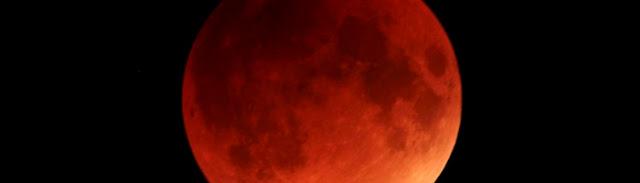 Eclipse Lunar Total no Brasil