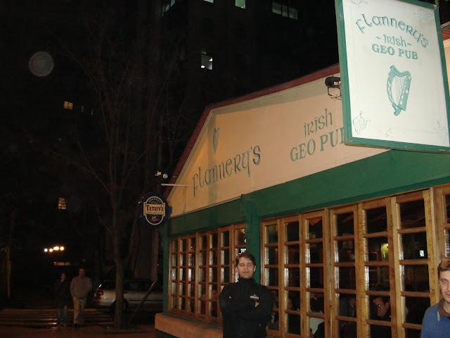 Flannery's Irish Geo Pub, Santiago.