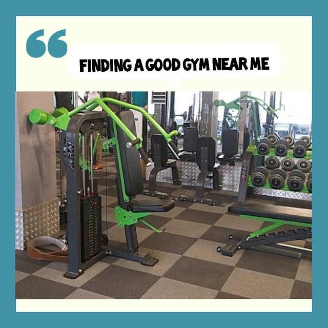 How do I Find Gym near me?
