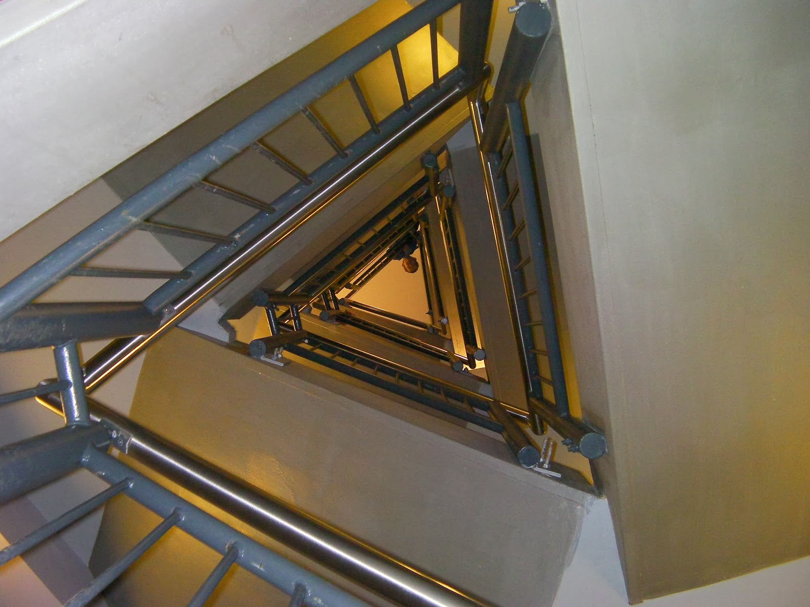 metal staircase