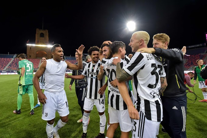Serie A: la Juve vince a Bologna e si qualifica in Champions