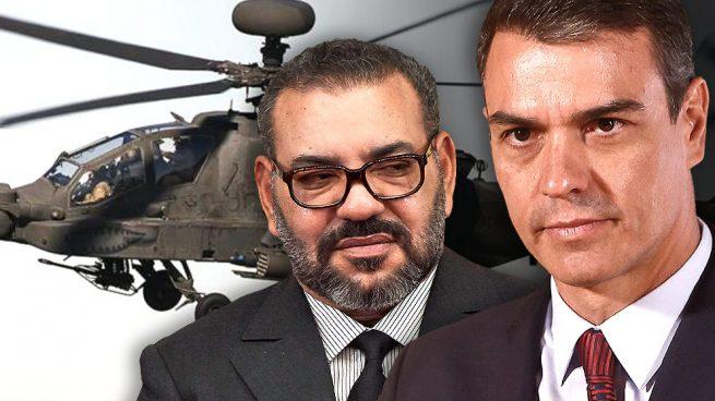 """El Gobierno """"progres"""" de Pedro Sánchez le paga a Marruecos las armas, un país que viola los DD.HH y ocupa un país vecino"""
