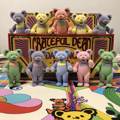 Grateful Dead Dancing Bears Vinyl Figure Box Set by Bottleneck Gallery