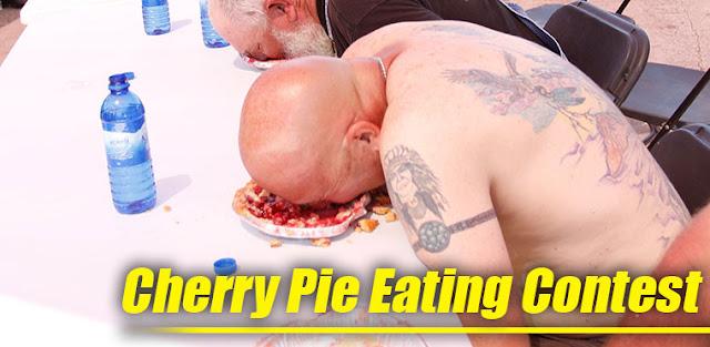 Cherry Pie Eating Contest
