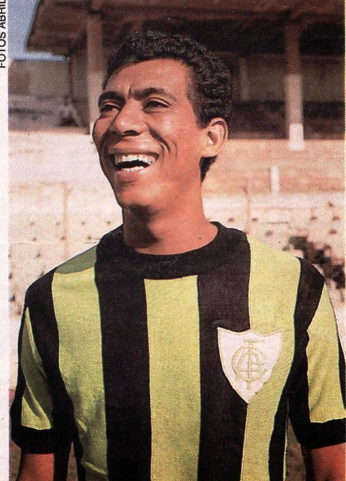 Jair Bala nos tempos de América Mineiro. (Foto  Divulgação) c396fe6594905