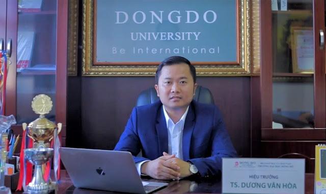 Khởi tố Hiệu trưởng trường Đại học Đông Đô và một số đồng phạm