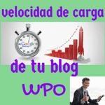 la velocidad de carga del blog es un factor seo que está en el wpo que significa de la web la performance de la optimización