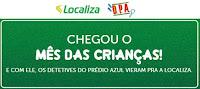 Mês das Crianças Localiza e D.P.A.: Detetives do Prédio Azul mesdascriancaslocaliza.com.br