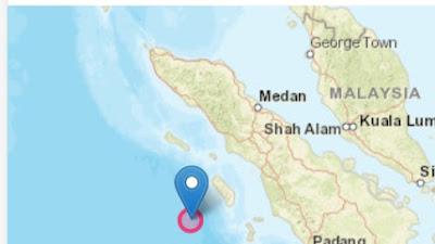 Gempa Bermagnitudo 7,2 Guncang Nias