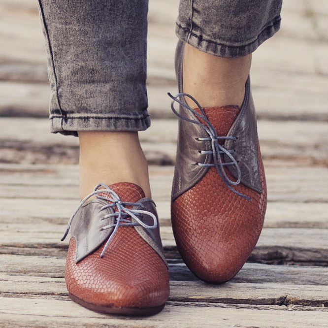 2150dc71 Curso zapatos bluchers de mujer: