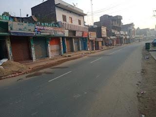 जनता कर्फ्यू का भारी असर , राजधानी पटना समेत बिहार की अधिकांश सड़के सूनी