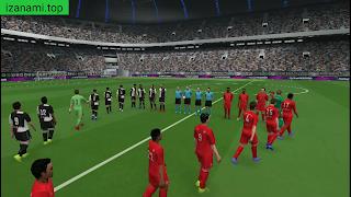 Jeu de Football - PES 2020 PPSSPP Android Meilleurs graphiques hors ligne 400 Mo