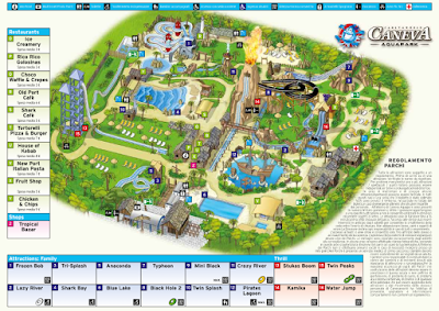 Mappa Caneva Acquapark