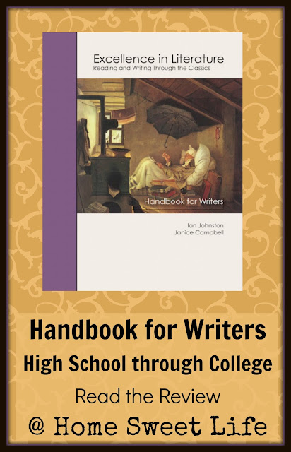 High School English, writer's handbook, writing for college