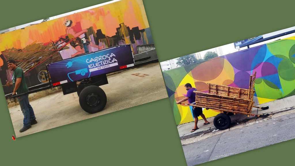 Os catadores de materiais recicláveis são responsáveis por coletar 90% de tudo que o Brasil recicla. Normalmente, esses trabalhadores utilizam carroças para armazenar e transportar o que recolhem, podendo chegar a carregar mais de 500 kg de uma só vez. Pensando na saúde desses profissionais, a ONG Pimp My Carroça criou o projeto Carroças do Futuro.