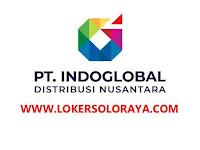 Lowongan Kerja Solo Salesman / Salesgirl Taking Order di PT Indoglobal Distribusi Nusantara