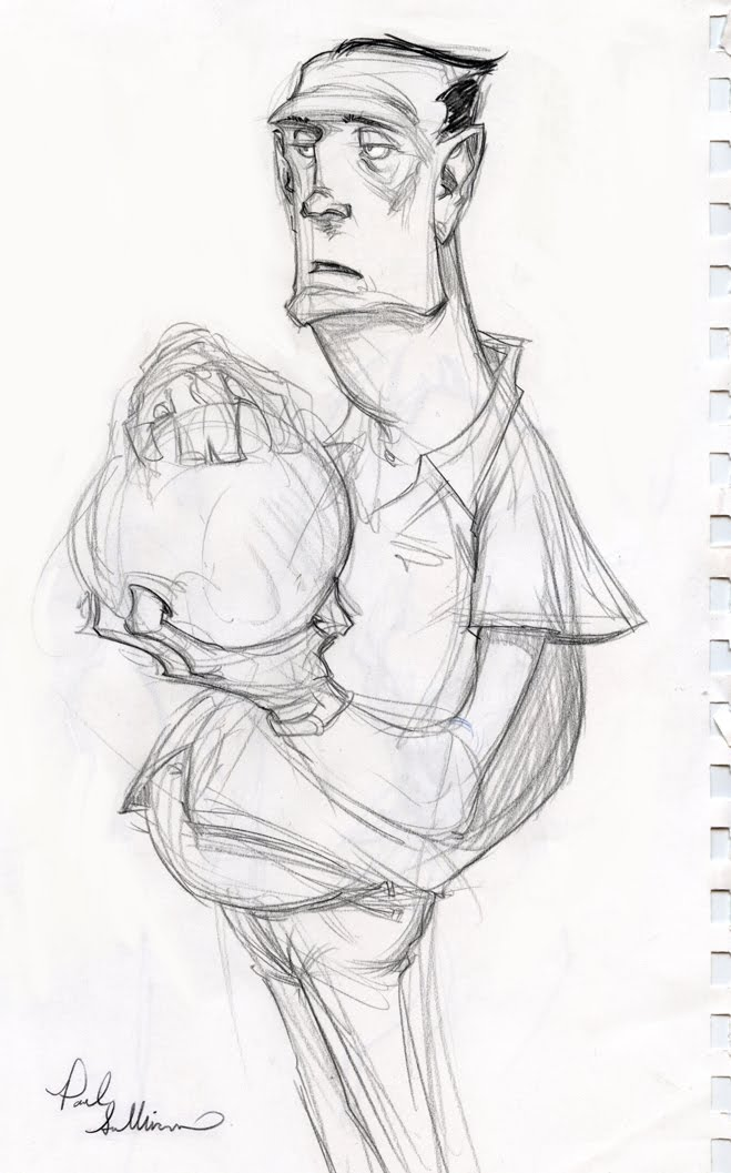Pauls Concepts: Sketchbook pages