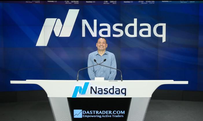 Nasdaq - Ciudad de Nueva York. Roberto Guadalupe, premiación 1er lugar en el #1 Best Trader Competitions NASDAQ- DASTRADER 2019. Bicampeonato.
