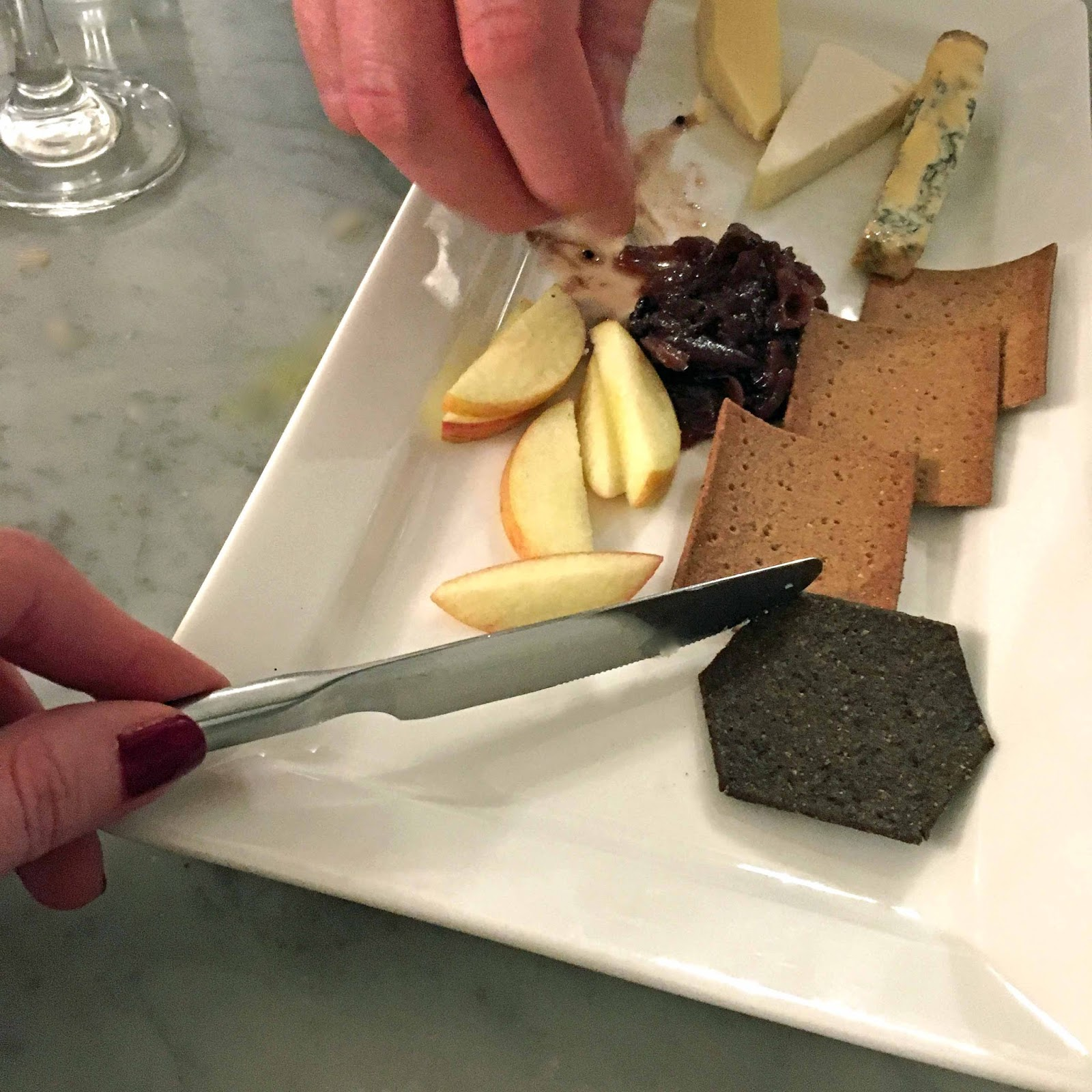 A review of Beck Hall Hotel and Bistro, Malham, Yorkshire Dales. The Secret Garden Bistro, Beck Hall, Malham, Yorkshire and Lancashire cheese