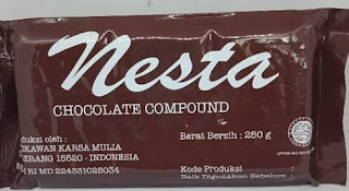Nesta Chocolate Compound Coklat Batangan Enak