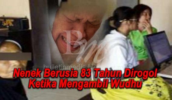 MasyaAllah!! Nenek Berusia 83 Tahun Dir0go1 Ketika Mengambil Wudhu