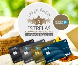 Cadastrar Promoção Porto Seguro Visa Experiência 5 Estrelas - Prêmios Todo Dia