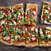 Spicy Salami & Goat Cheese Pizza With Yellow Tomato Sauce, Fennel Seeds & Fresh Basil Recipe