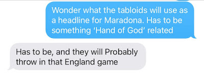 Hand of God Text