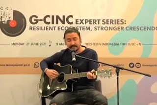 Menparekraf Jadikan Momentum Hari Musik Dunia untuk Bangkitkan Industri Musik Tanah Air